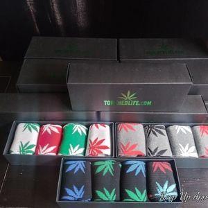 Cannabis Socks Gift Set